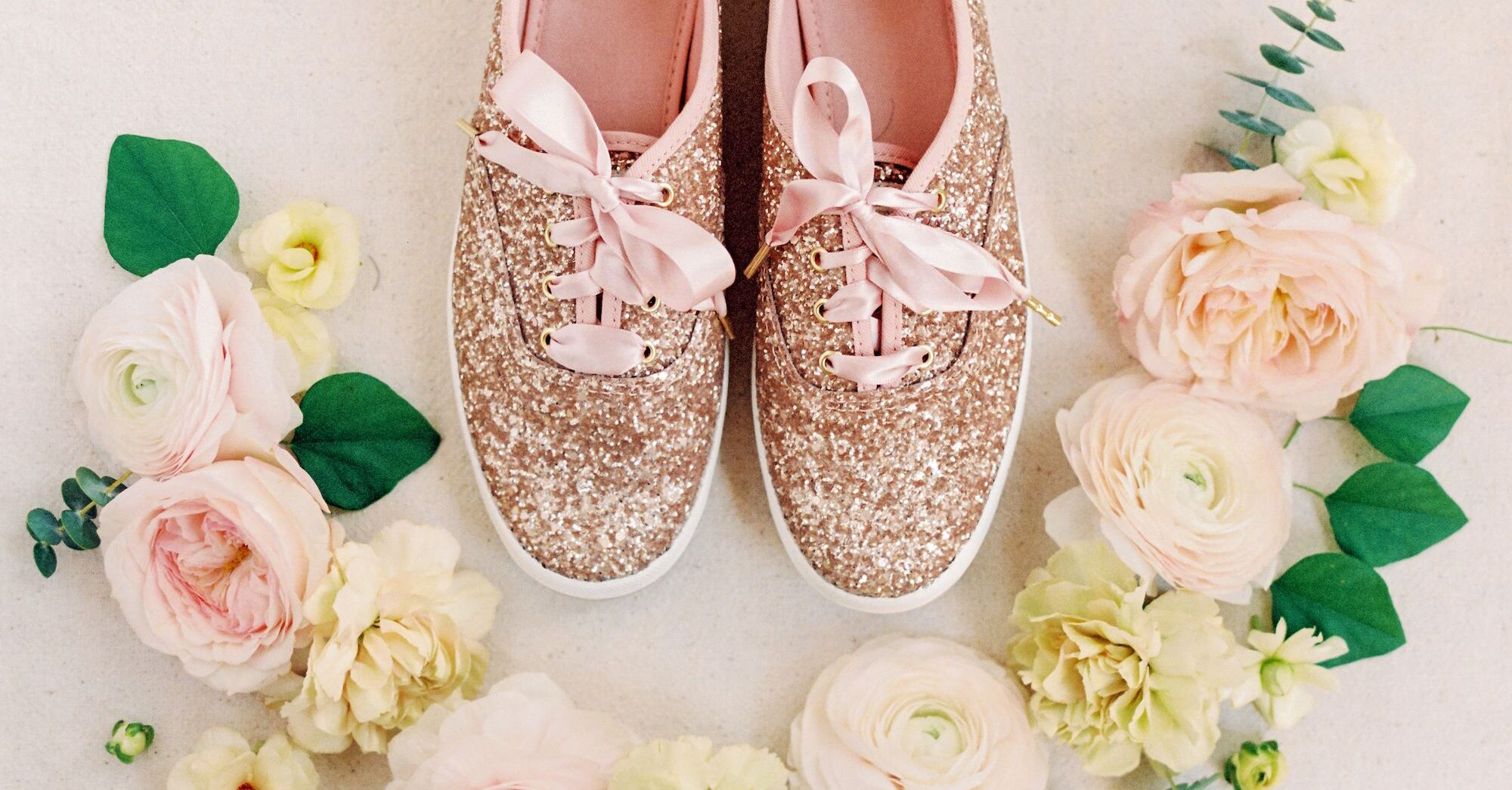 29 Wedding Sneakers Perfect For The Modern Bride