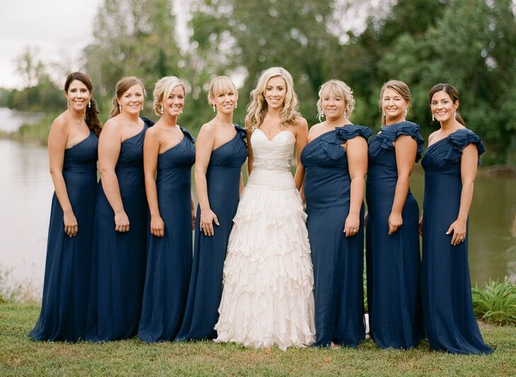 Formal One Shoulder Bridesmaid Dresses