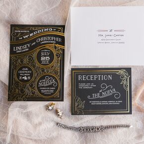 Wedding Invitations With Photos Neat Of Invitation Wording Pocket