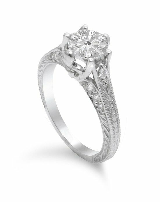 Timeless Designs R1902 Engagement Ring photo