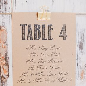seating chart for weddings
