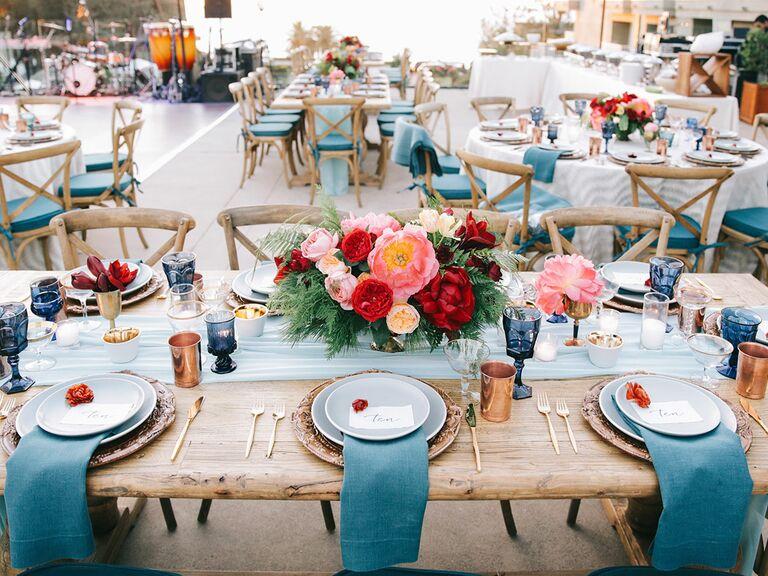 Reception extras checklist outdoor wedding reception hanging lantern decor junglespirit Choice Image