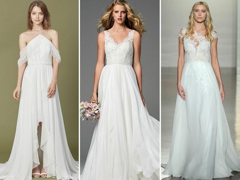 Tropical Dresses For Weddings 90 Vintage breezy wedding dresses