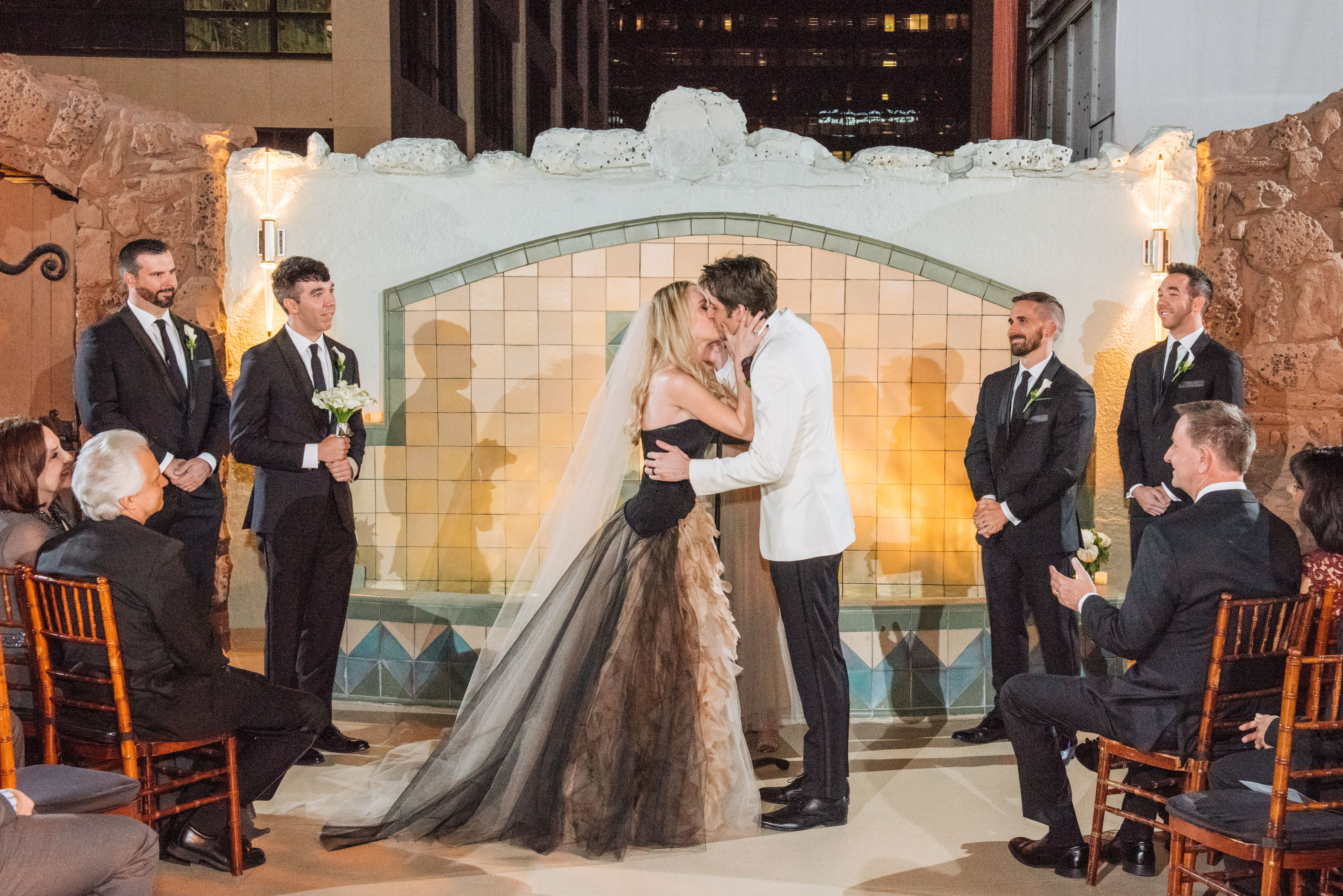 A Quirky Halloween Wedding At Oviatt Penthouse In Los