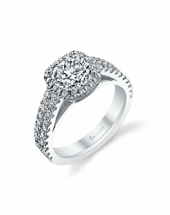 Sylvie Collection S1159 Engagement Ring photo