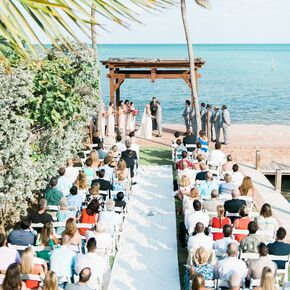 Beach wedding decorations accents beach waterfront ceremony at the caribbean resort junglespirit Image collections