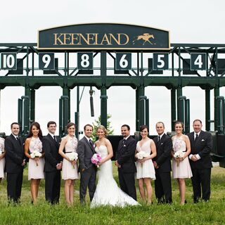 A Keeneland Race Course Wedding in Lexington