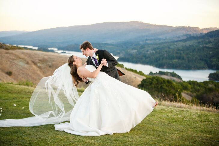 A Plum And Gold Clic Wedding At Crystal Springs Golf Course In