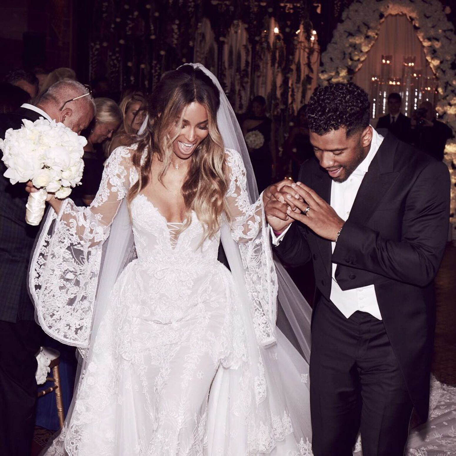 Beyonce After the Wedding Dress
