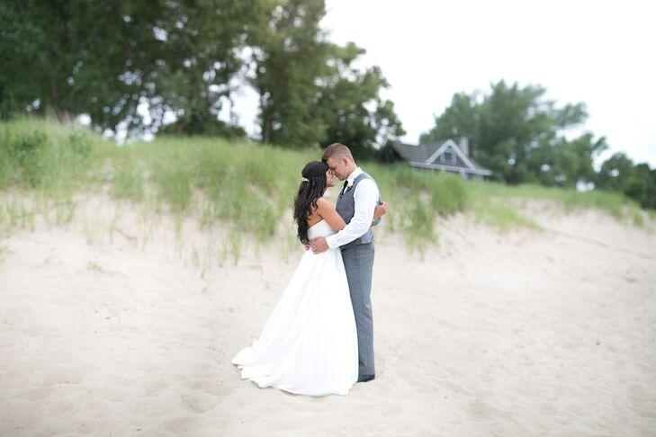 A Clic Ballroom Wedding At Shadowland On Silver Beach In St Joseph Michigan