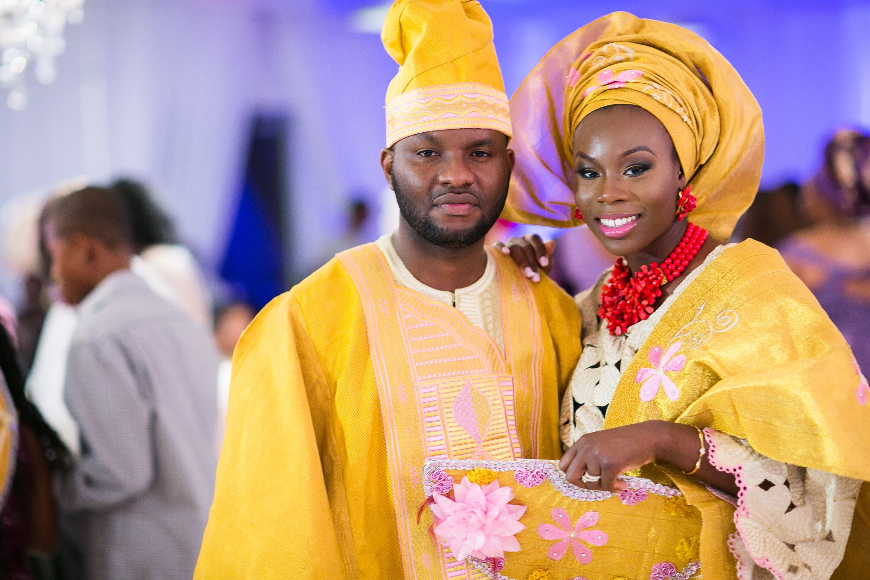 Traditional Glamorous African Wedding At Red Oak Ball