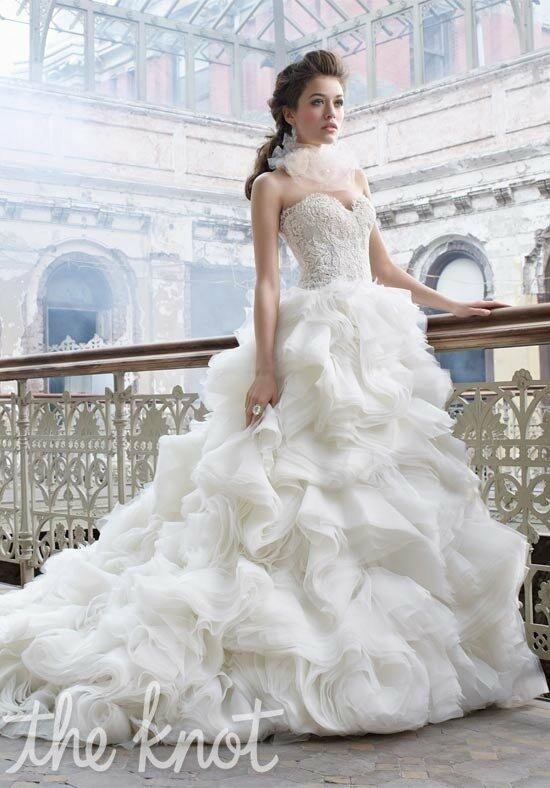 Lazaro 3213 Wedding Dress photo
