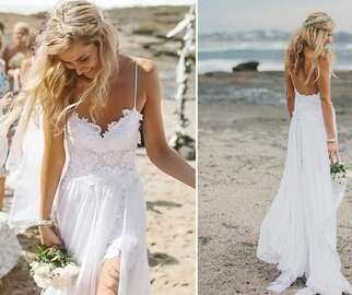 The Hollie wedding dress by Grace Loves Lace