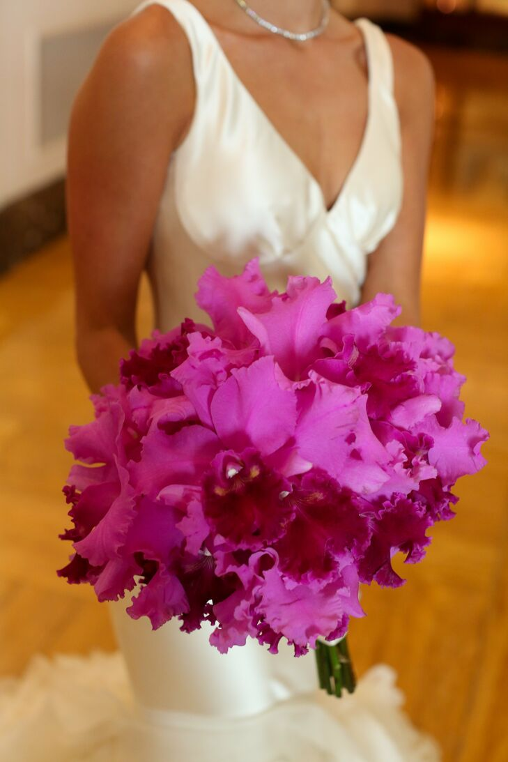 Cattleya Orchid Bridal Bouquet