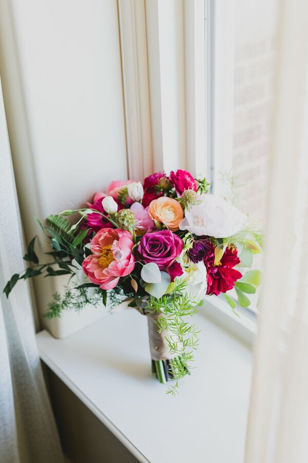 Spring Peony, Rose and Ranunculus Bouquet