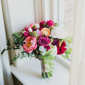Spring Peony Rose And Ranunculus Bouquet