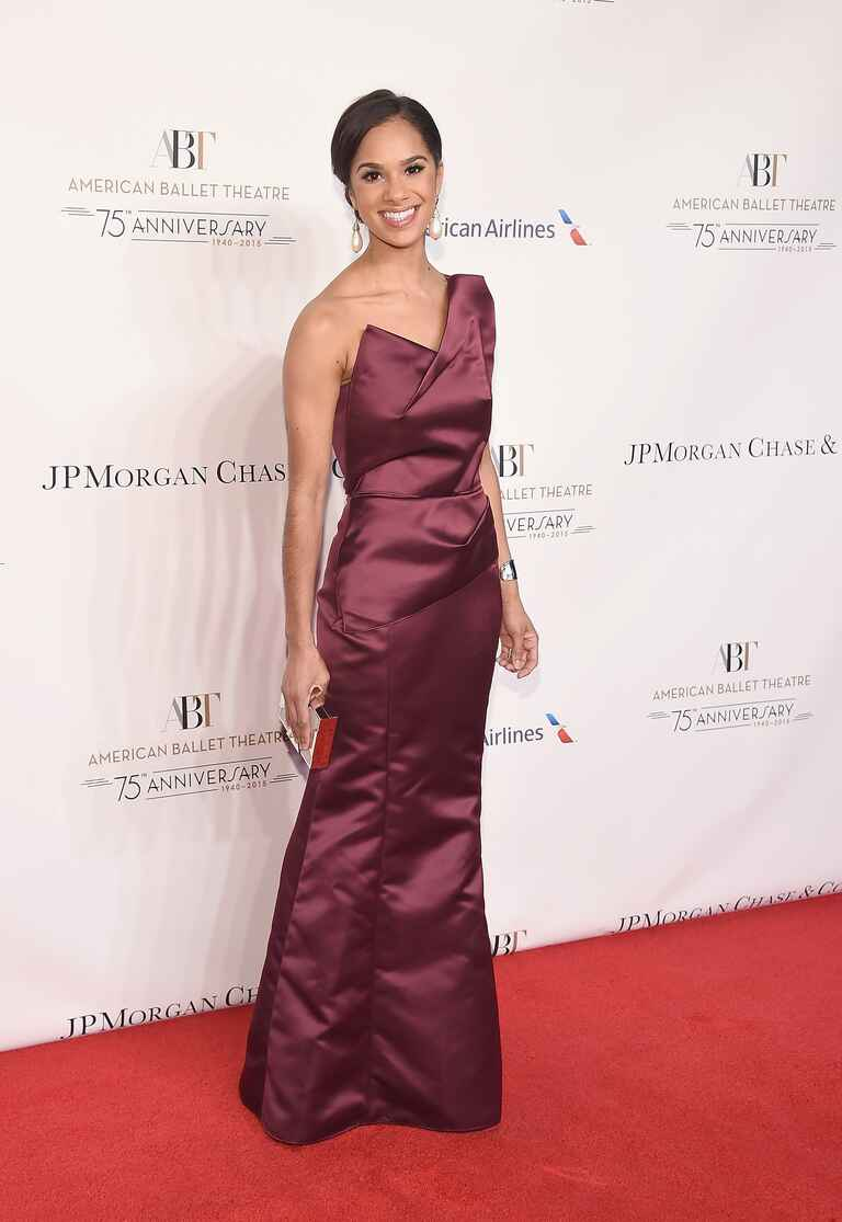 Misty Copeland at American Ballet Theatre's 75th Anniversary Gala