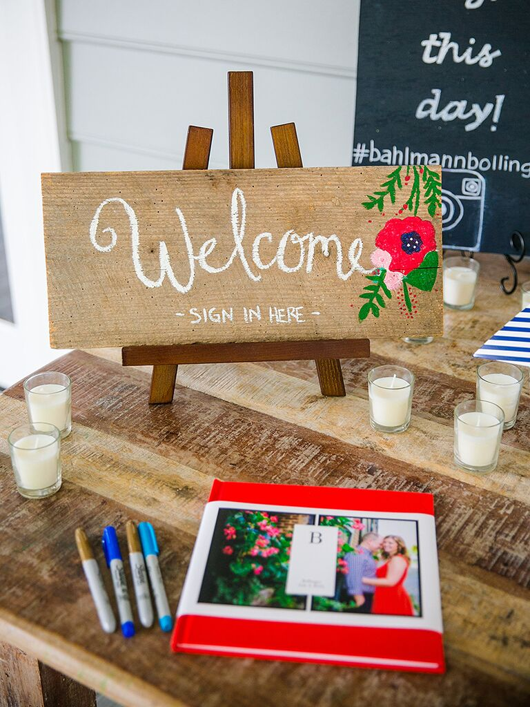 DIY Wedding Welcome Sign That Doubles As A In