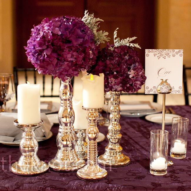 Candle Flower Centerpieces Wedding