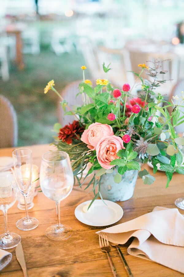 Natural Wedding Centerpieces