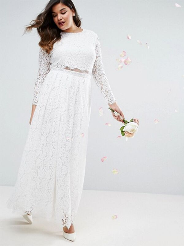20 Gorgeous Plus-Size Wedding Dress You\'ll Love