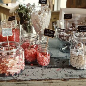 Wedding Candy Bars