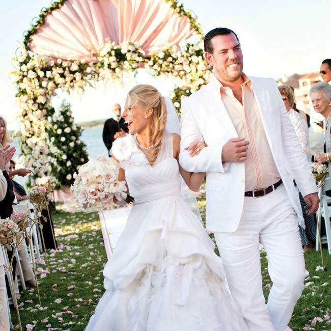A Marie Antoinette Wedding In Horseshoe Bay, TX