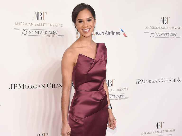 Misty Copeland at the American Ballet Theatre's 75th Anniversary Fall Gala