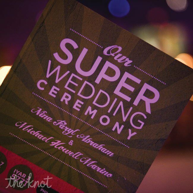 super hero wedding invitations,