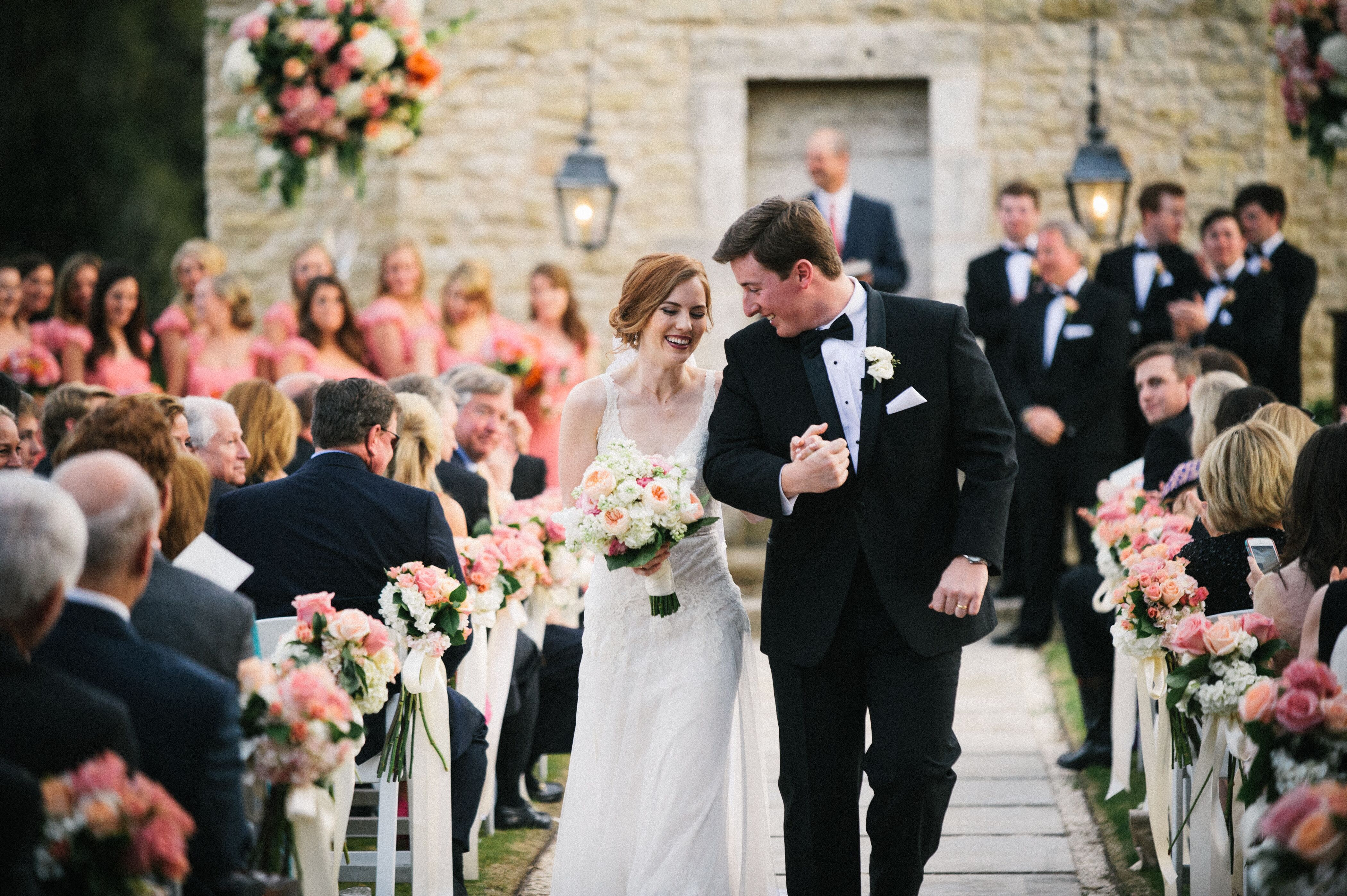 Outdoor Wedding At Houston Oaks Country Club: A Romantic Alfresco Wedding At Houston Oaks Country Club