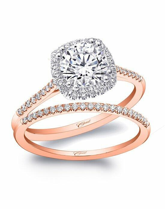 Coast Diamond Rose Gold Collection - LC5410 & WC5410 Engagement Ring photo