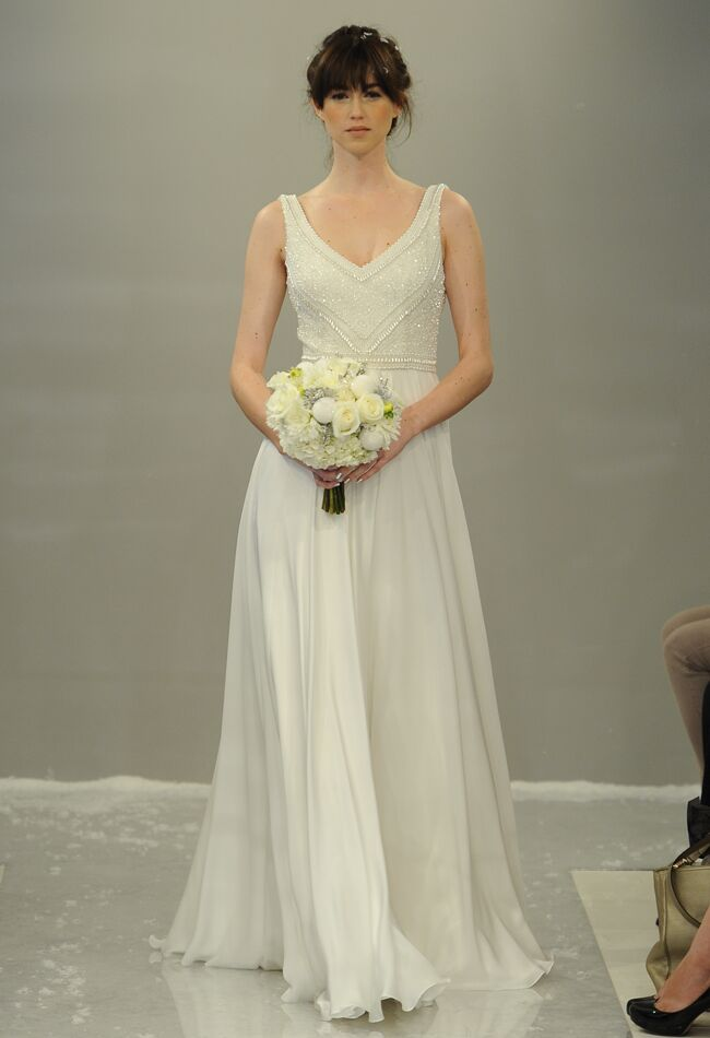 Theia Fall Wedding Dress Collection Includes Knit Turtleneck