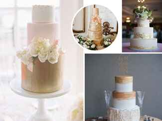 Winter wedding cake trends