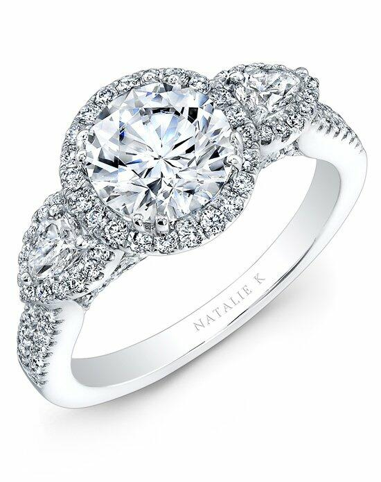Natalie K Eternelle Collection - NK28370-18W Engagement Ring photo