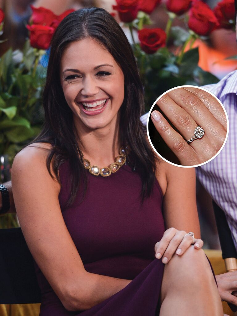 12 Of Our Favorite Engagement Rings From The Bachelor