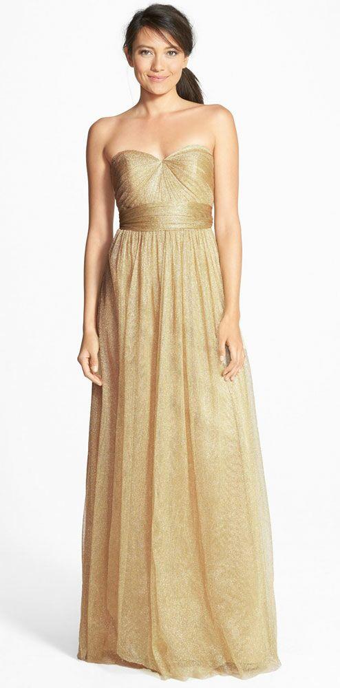 Gold Bridesmaid Dress By Jenny Yoo