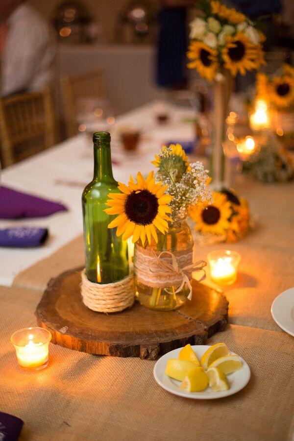 Bride Sunflower Bouquet
