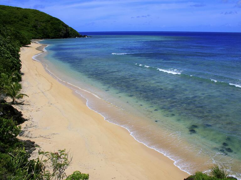 Beach honeymoon Yasawa Island, Fiji
