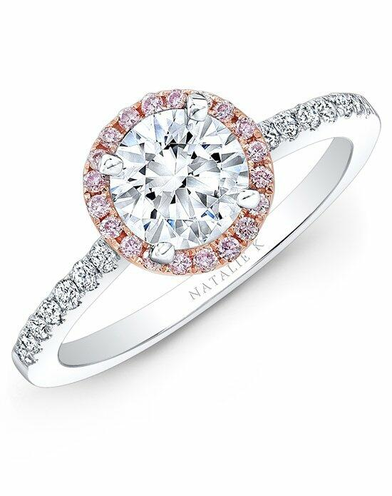 Natalie K Le Rosé Collection - NK28669PK-18WR Engagement Ring photo