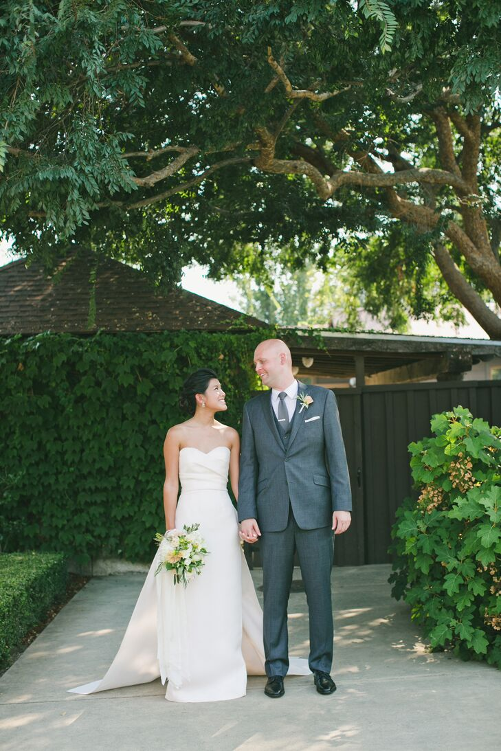 A Rustic Garden Wedding At The Vintage Estate In Yountville California