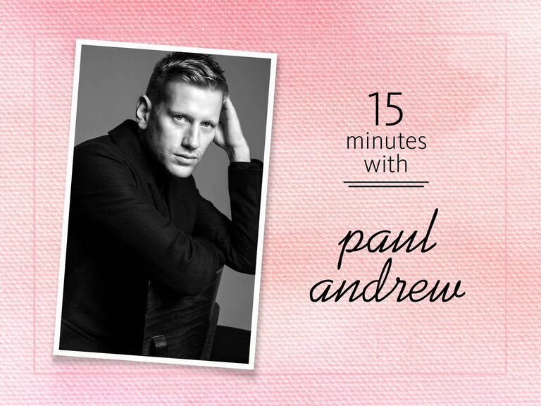 15 minutes with Paul Andrew