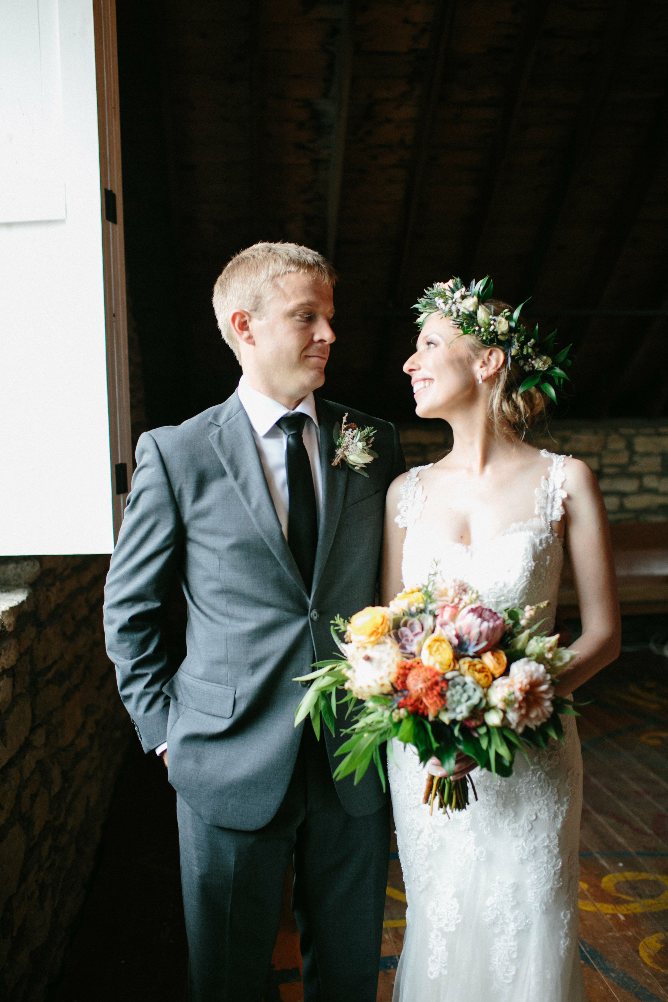 A Rustic Botanical Garden Wedding at Mayowood Stone Barn ...