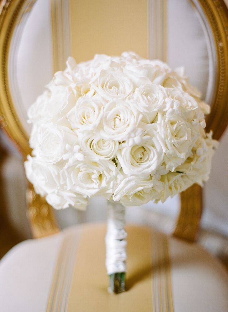 tag white rose bouquet - photo #29