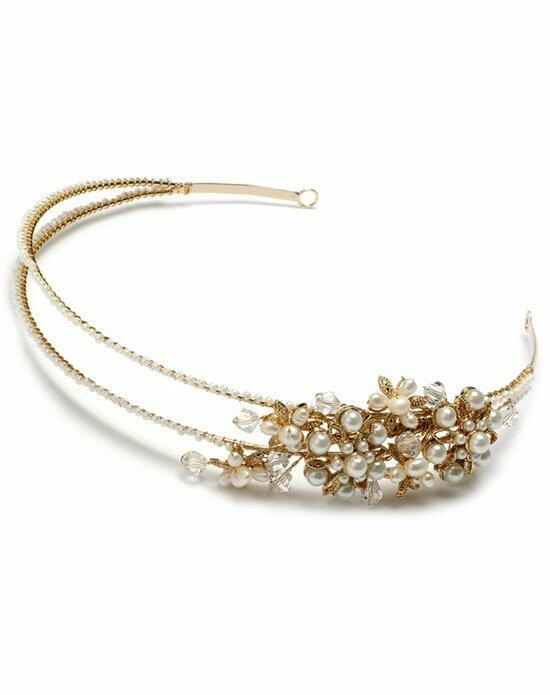 USABride Wisteria Gold Pearl Headband TI-244-G Wedding Headbands photo