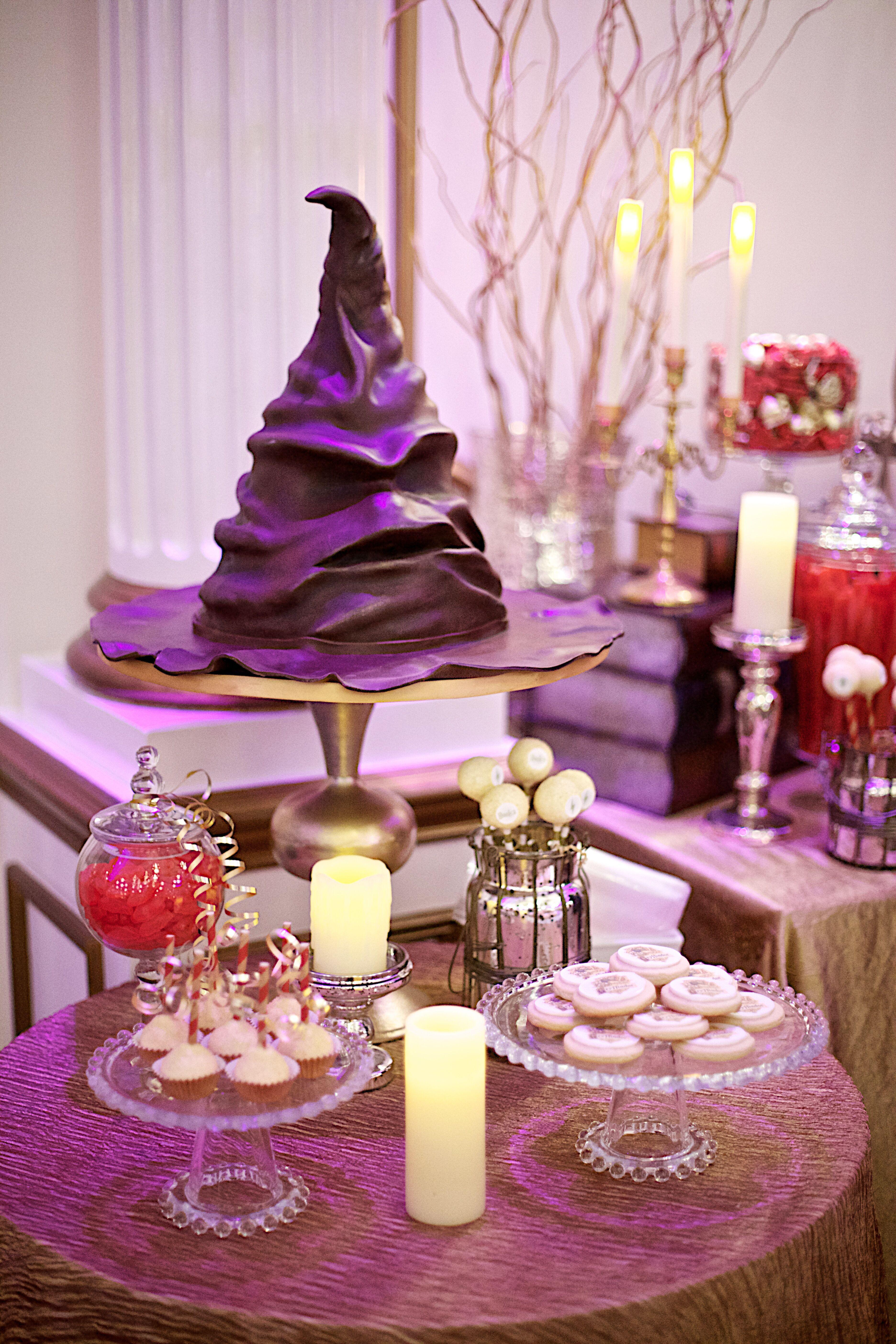 Harry Potter S Sorting Hat Groom S Cake