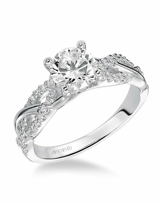 ArtCarved 31-V421ERW Engagement Ring photo