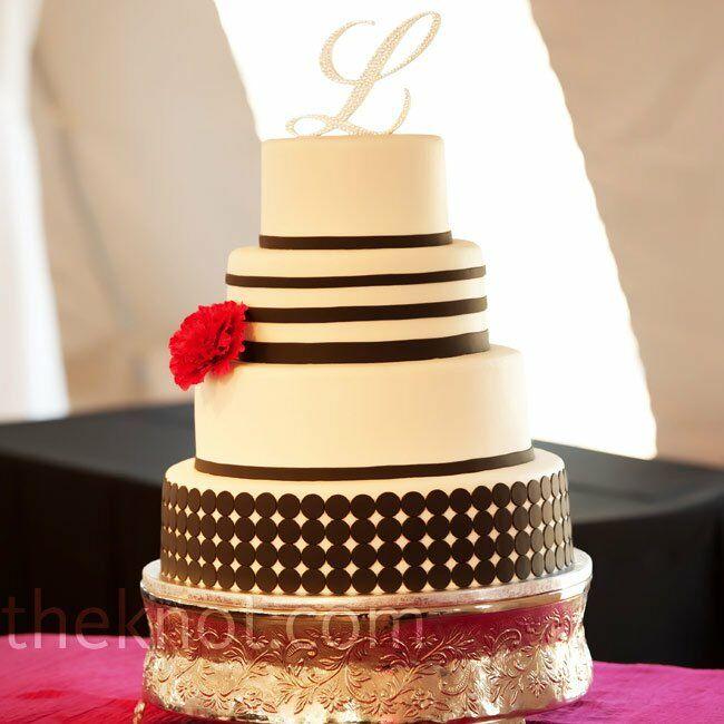 Modern Stripe Cake