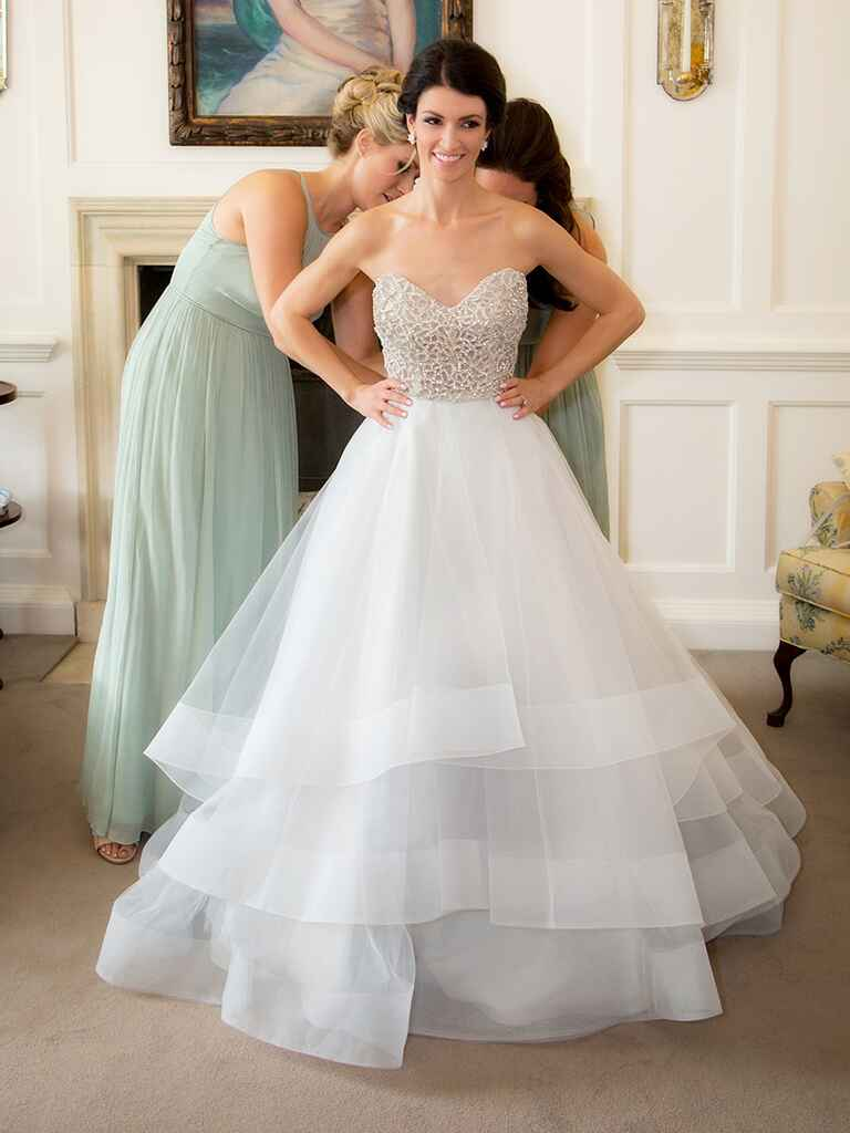 25 princess wedding gowns with beading crystals and for Plus size wedding dresses minneapolis mn