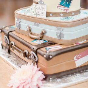 Vintage postcard guest book - Cake tolix ...