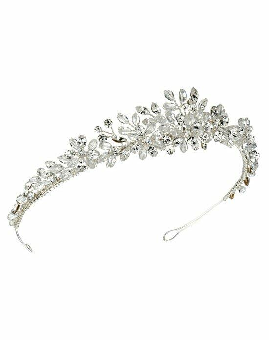 USABride Crystal Floral Tiara TI-3127 Wedding Tiaras photo